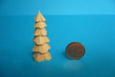6er Miniatur-Bäumchen