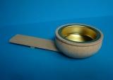 Teelichthalter flach für Pyramide Var.1