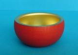 Teelichtfassung rot