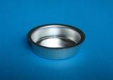 Teelicht-Einsatz 12 mm silberfarben